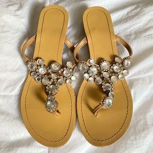Madeline Stuart Bling Sandals Size 7 1/2